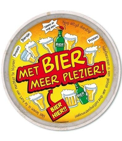 Dienblad - bier