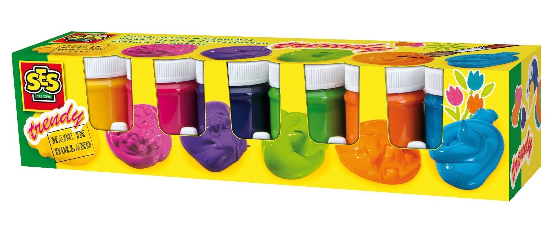 Ses Plakkaatverf 6 Kleuren