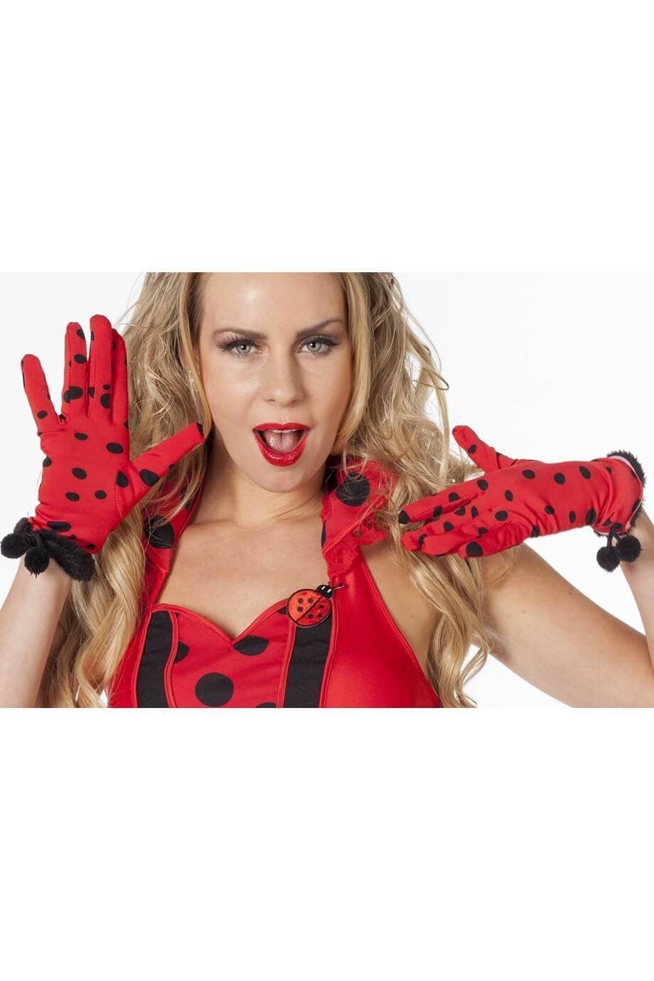 Lieveheersbeest handschoenen