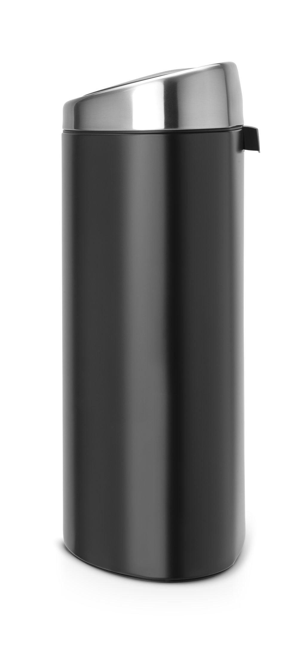 Brabantia Prullenbak 40 Liter.Brabantia Touch Bin 40 Liter Matt Black Matt Coppens Warenhuis