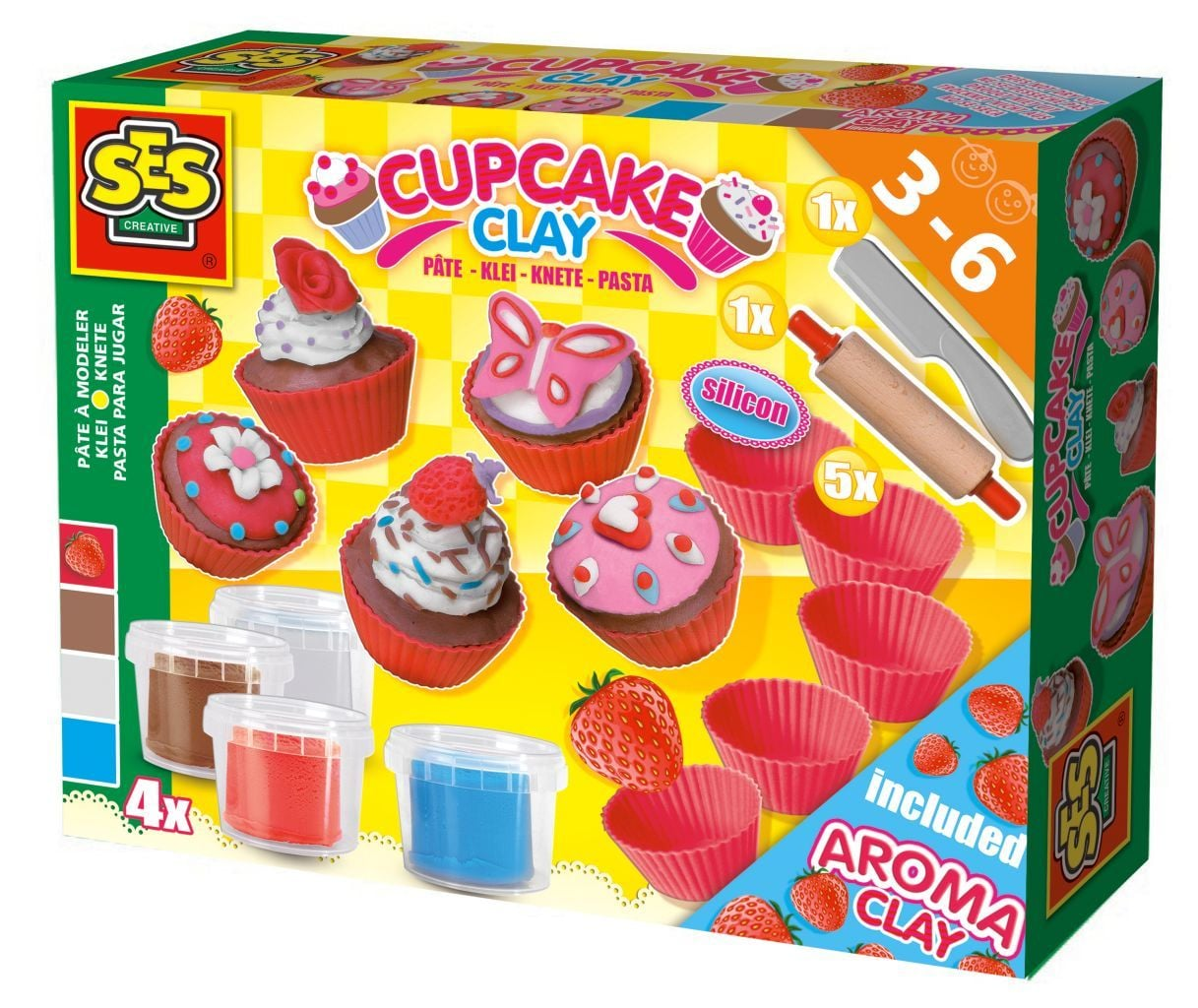SES klei Superdough cupcakes -