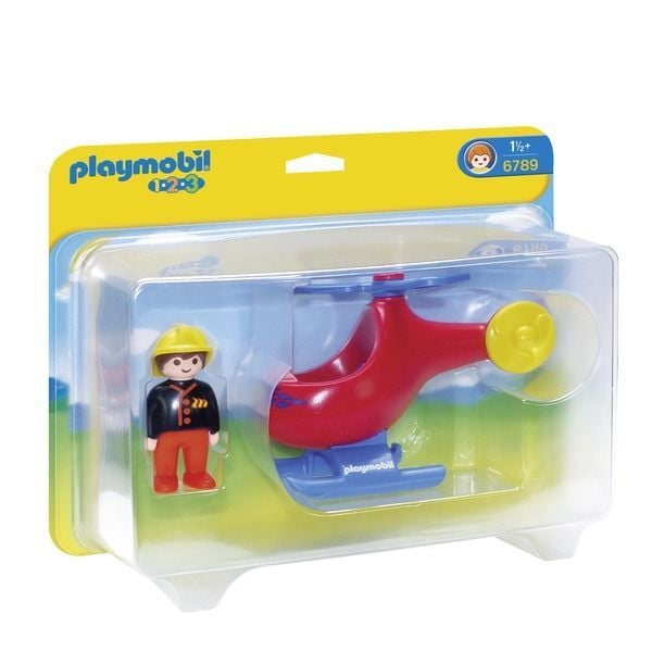 Playmobil brandweerhelikopter 6789