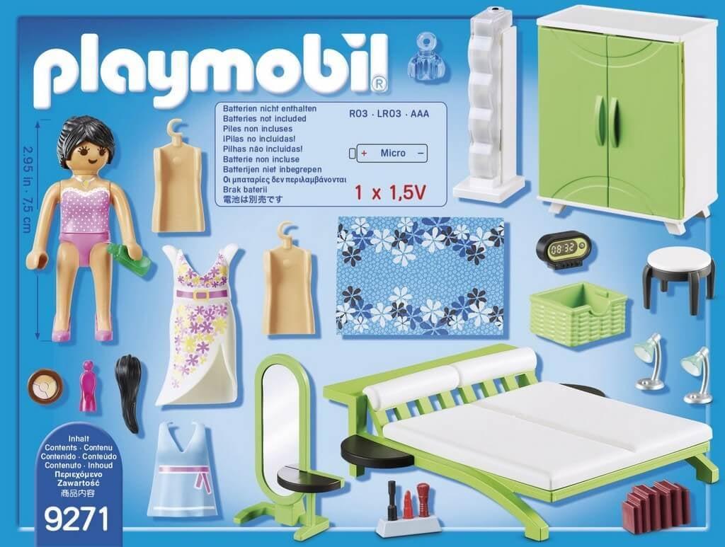 Playmobil® 9271 Slaapkamer met make-up tafel | Coppens Warenhuis