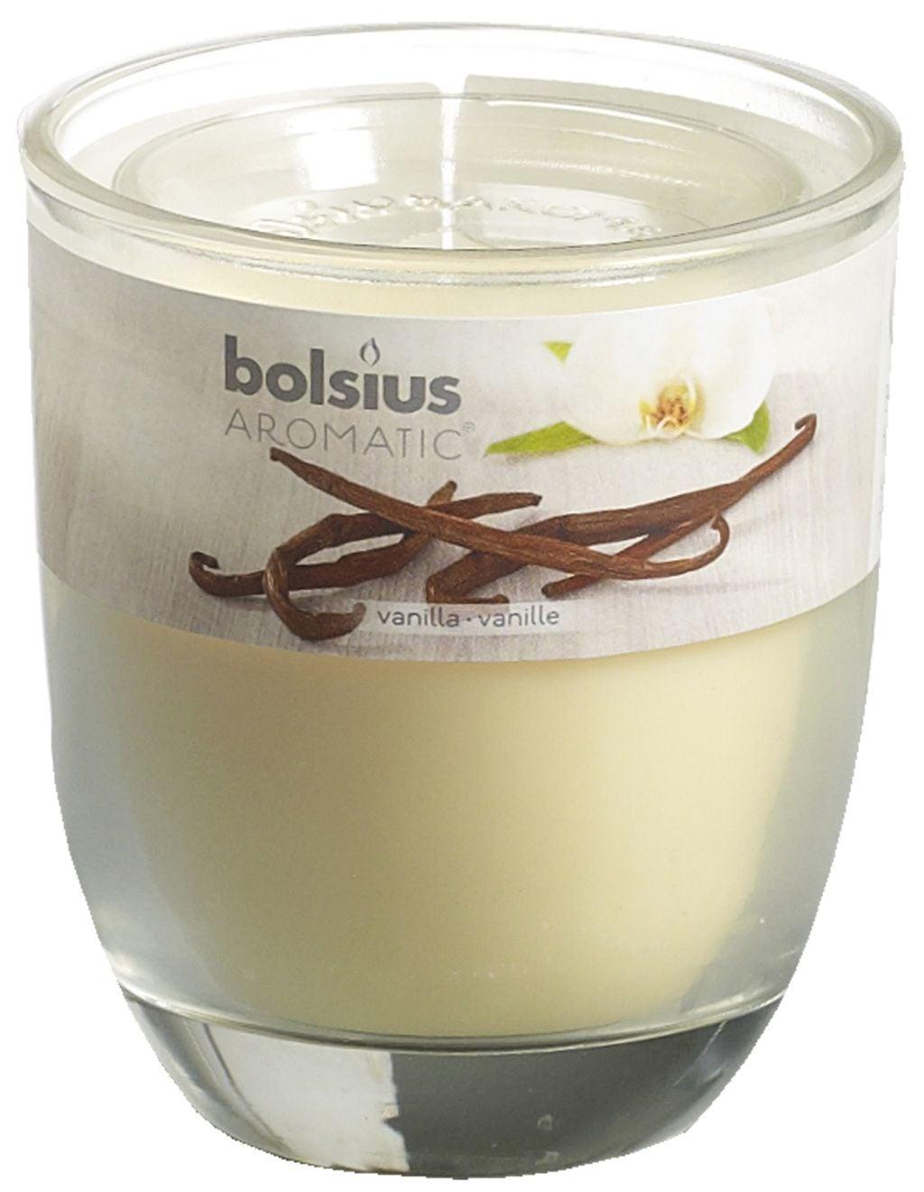 Bolsius Geurglas 80-70 Vanilla Stuk