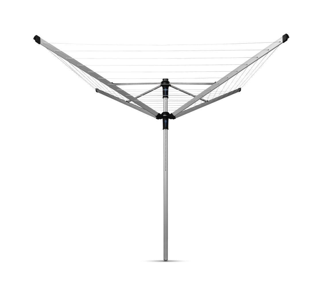 Brabantia Droogmolen Lift-O-Matic Advance incl. Grondanker 50 meter