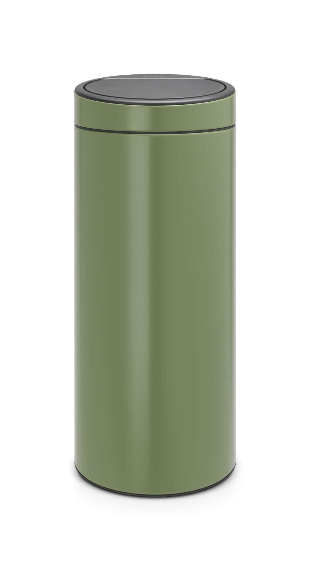 Brabantia Prullenbak 30 Liter Aanbieding.Brabantia Touch Bin 30 Liter Moss Green Brabantia Touch Bin 30 Liter Moss Green