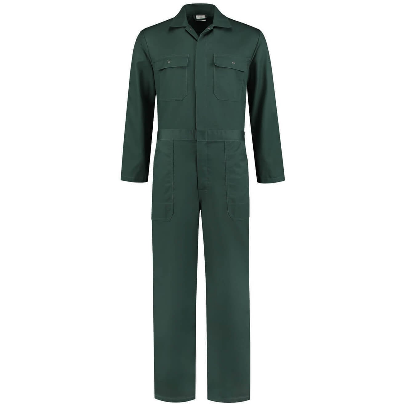 Donker groene overall volwassenen