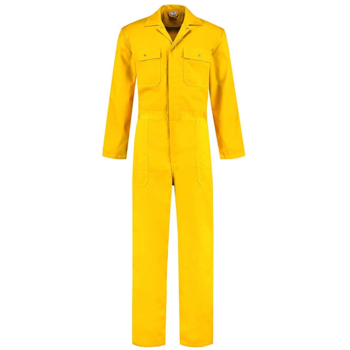 Gele Kinderoverall