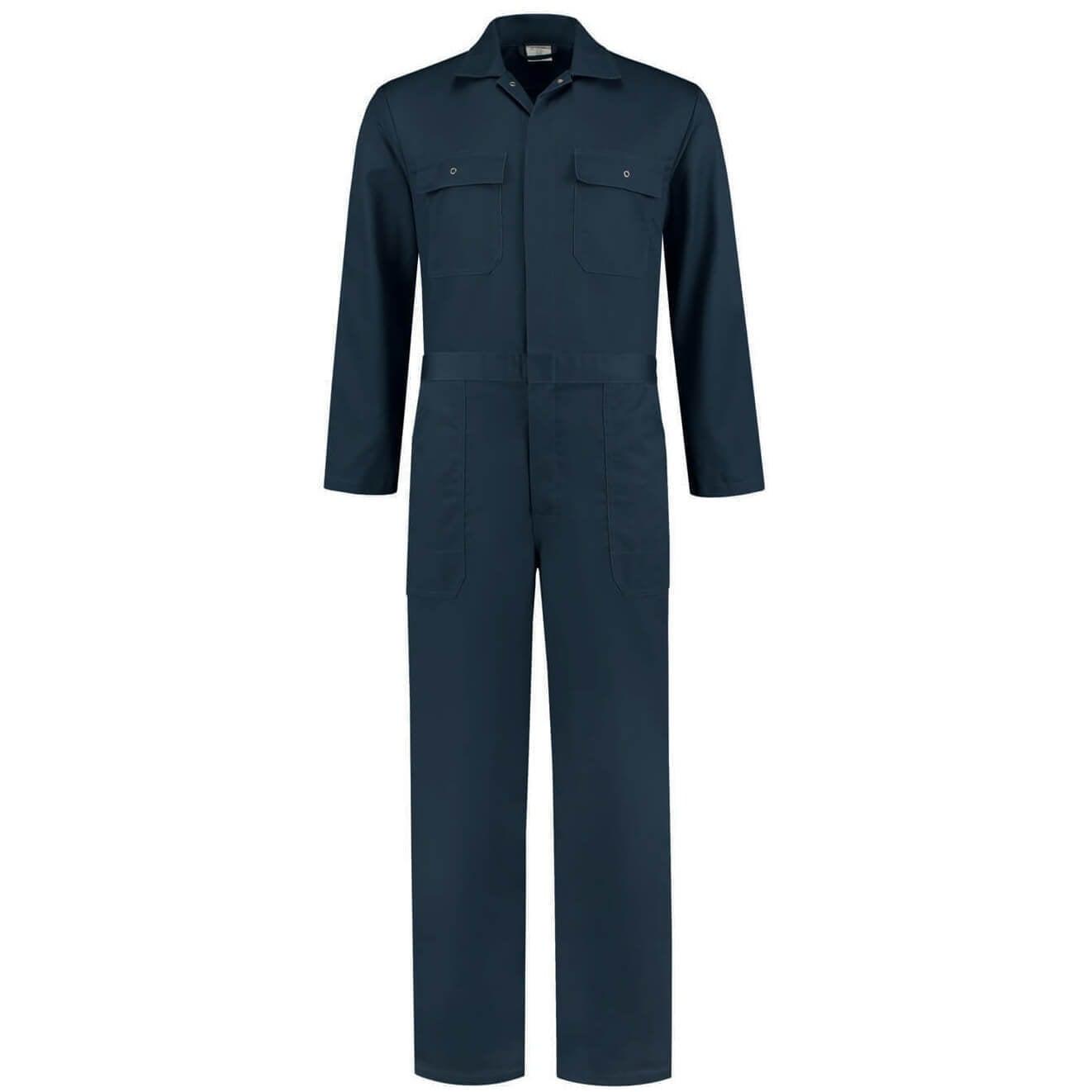 Navy overall volwassenen