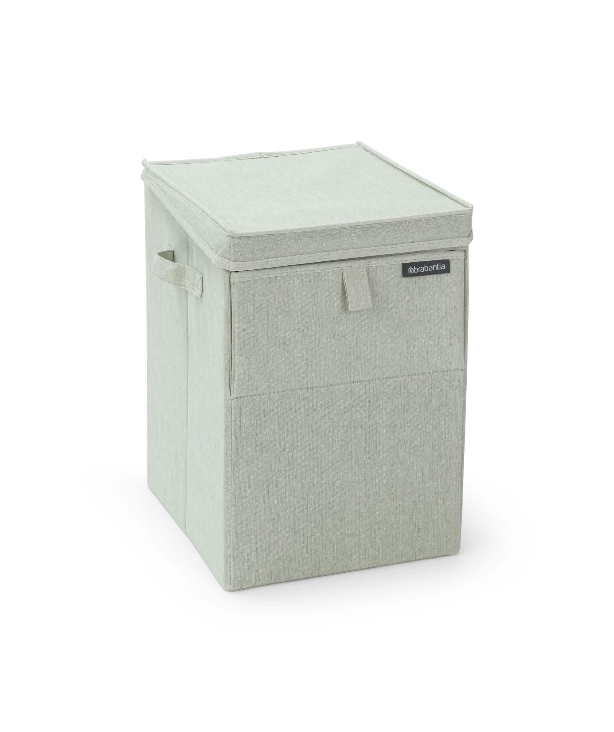 Brabantia Wasbox 50 Liter Matt Steel.Brabantia Wasbox Stapelbaar 35 Liter Green Brabantia Wasbox Stapelbaar 35 Liter Green