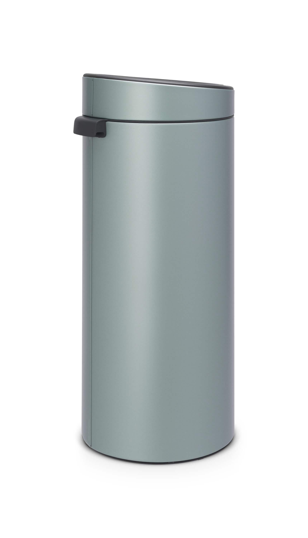 Brabantia Prullenbak 30 Liter Aanbieding.Brabantia Touch Bin 30 Liter Metallic Mint Brabantia Touch Bin 30 Liter Metallic Mint