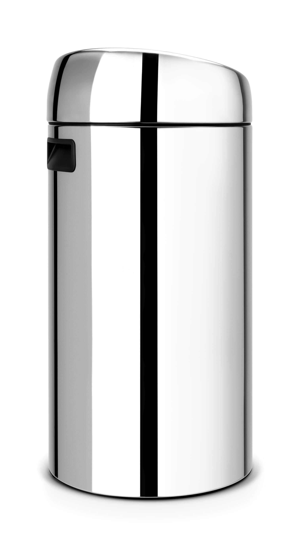 Brabantia Touch Bin Afvalverzamelaar 30 Liter.Brabantia Touch Bin 2x20 Liter Brilliant Steel Brabantia Touch Bin 2x20 Liter Brilliant Steel