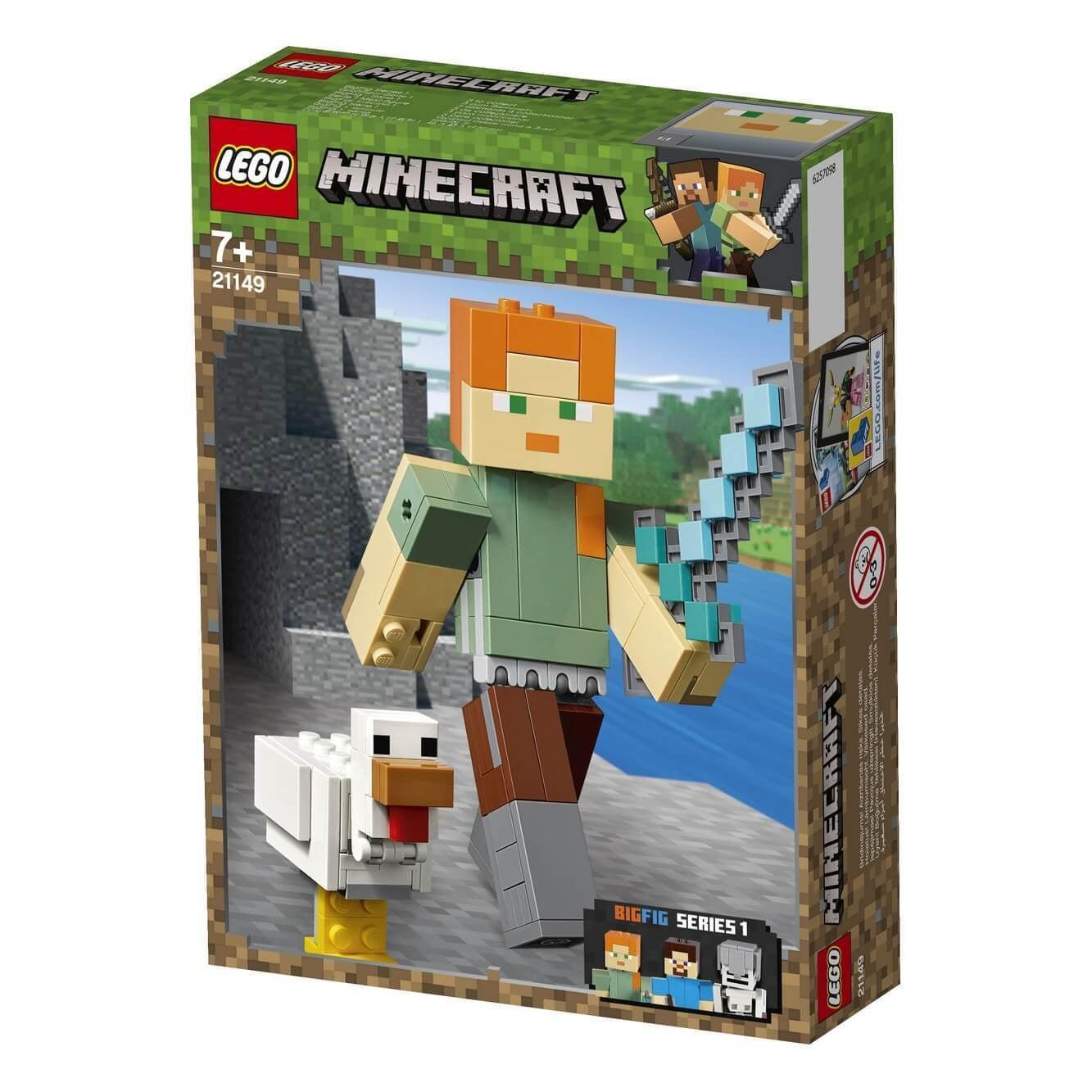 Lego 21149 Minecraft Bigfig Alex