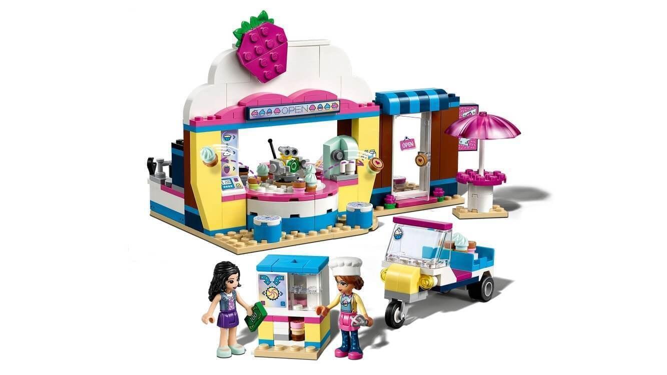 Lego friends olivia`s cupcake cafe coppens warenhuis