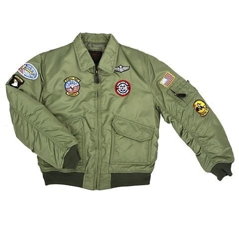 Flight jacket for kids