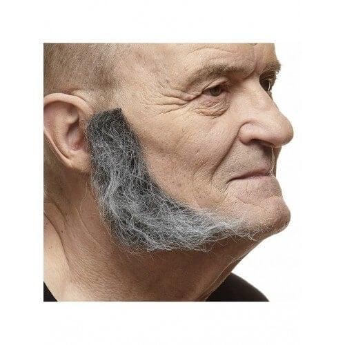 Bakkebaarden Mark grijs
