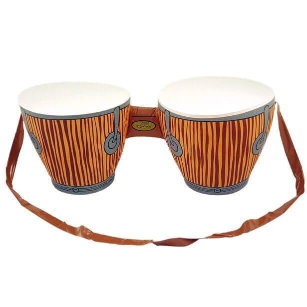 Opblaasbare bongo drums