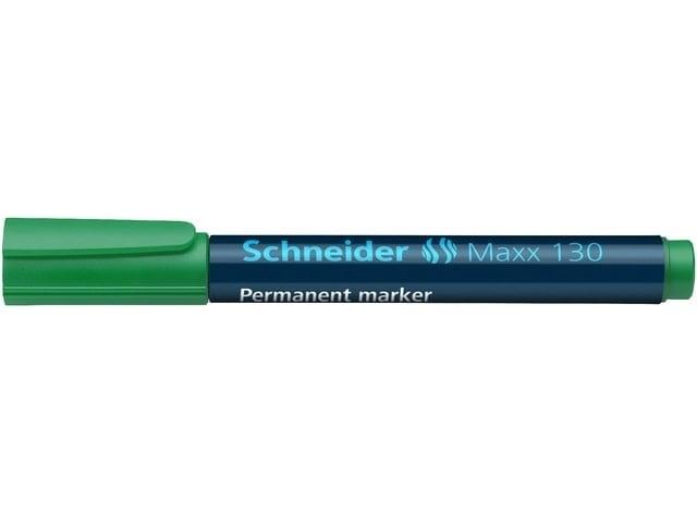 Marker Schneider permanent 130 ronde punt groen
