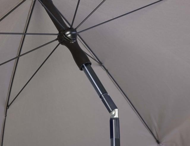 Platinum Aruba parasol 200 rond antraciet