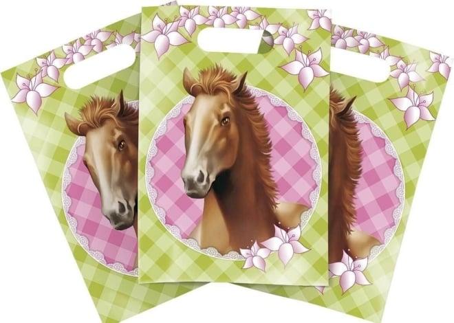 Partybags paarden 6 stuks