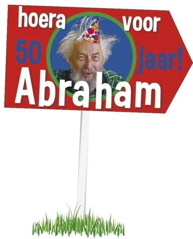 Tuinbord Abraham