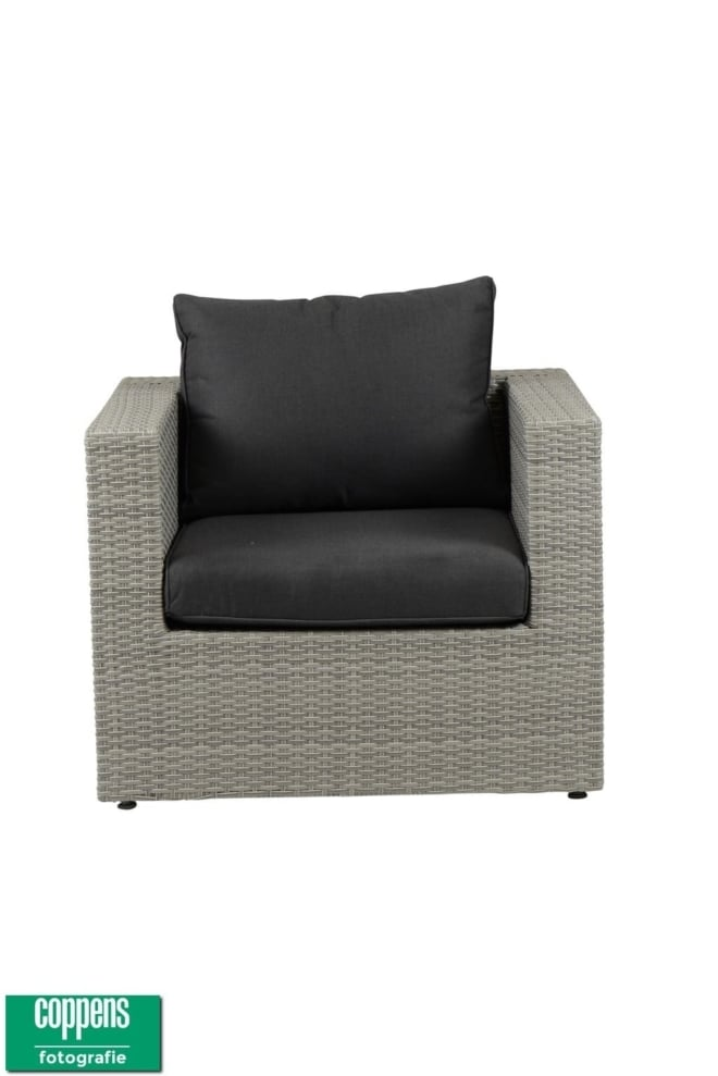 Sun sit Parma lounge stoel white grey