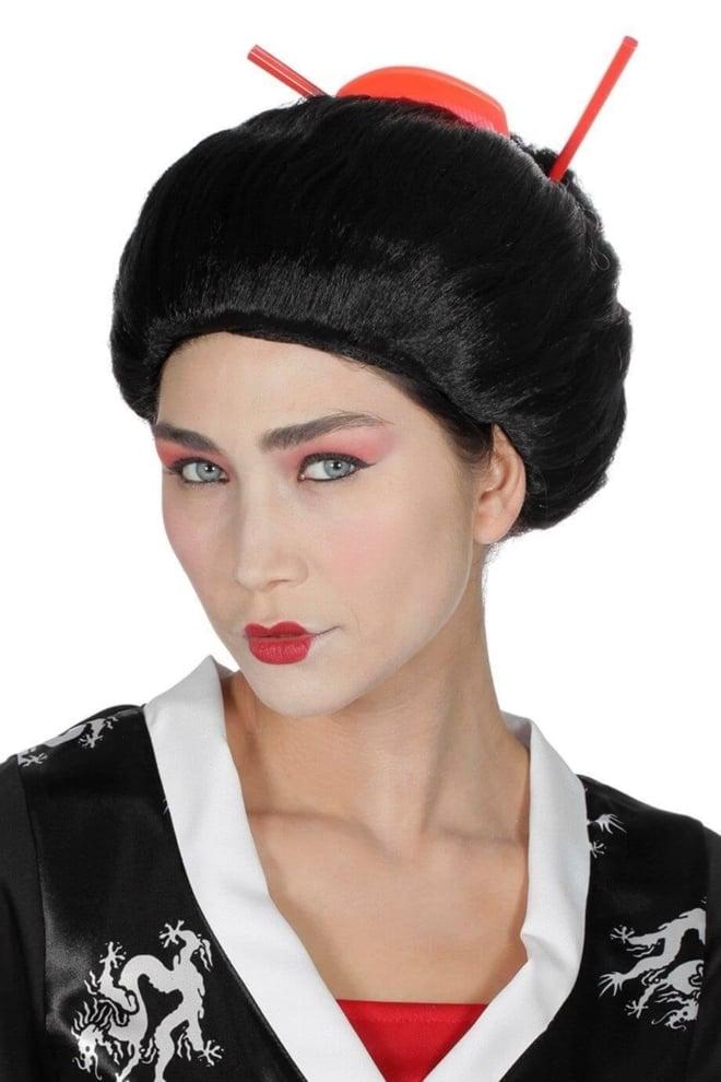 Pruik Geisha