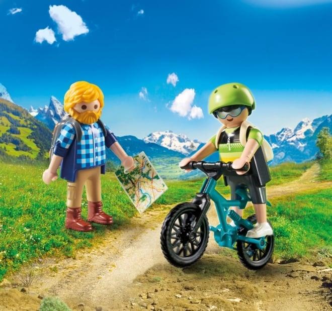 Playmobil® 9129 Wandelaar en mountainbiker OP=OP