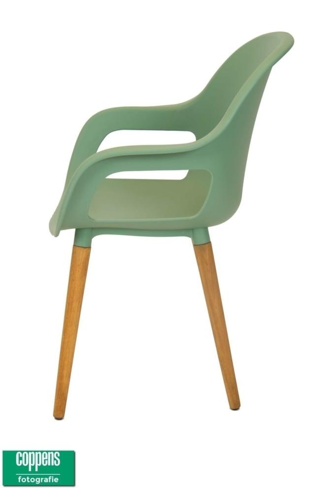 Exclusief Paris dining stoel groen