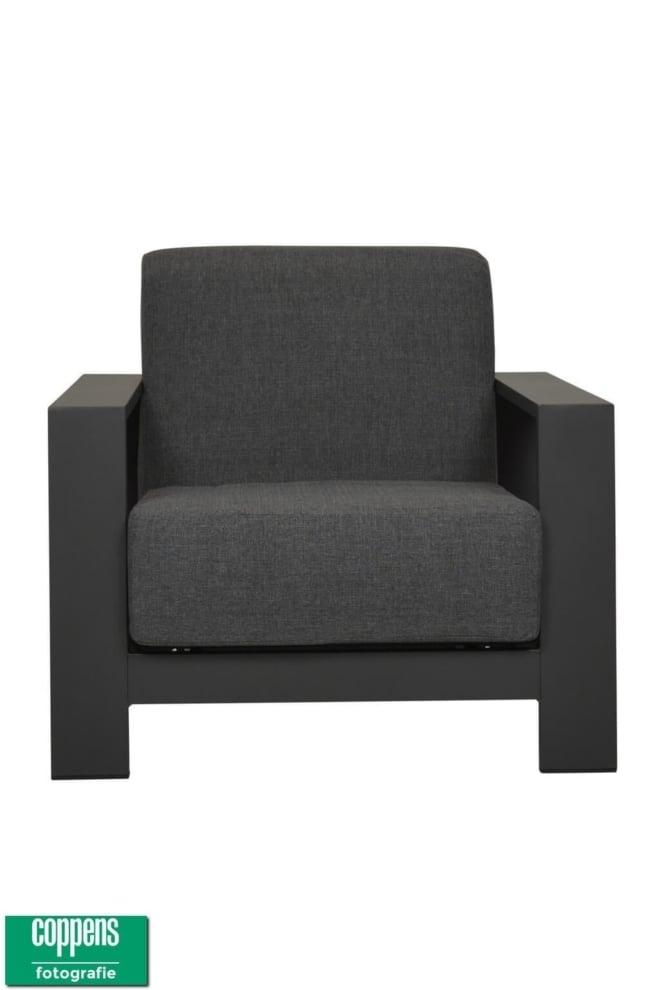 Exclusief Seoel lounge stoel antraciet
