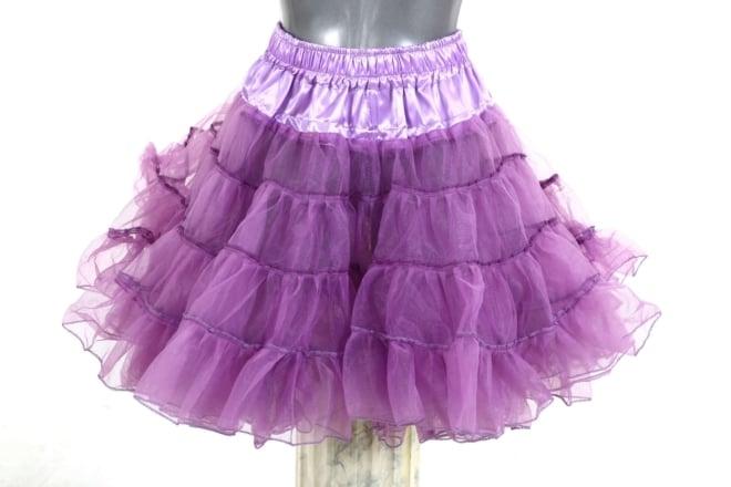 petticoat long paars