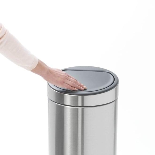 Brabantia Touch Bin New afvalemmer 30 liter Matt Steel FPP