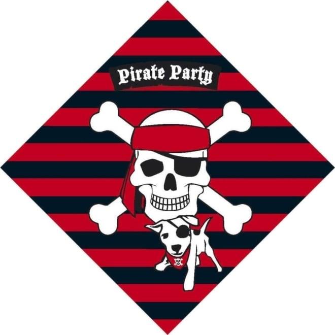 Servetten Piraten 20 stuks