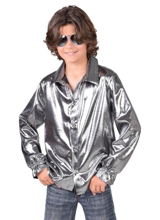Shirt folie zilver