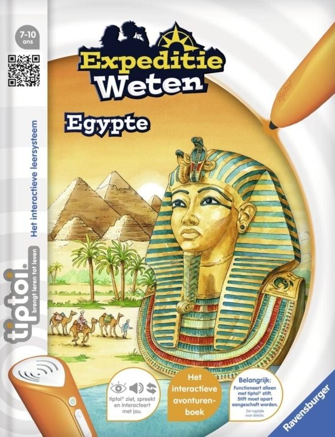 Ravensburger TipToi® boek Expeditie weten Egypte 7-10 jaar