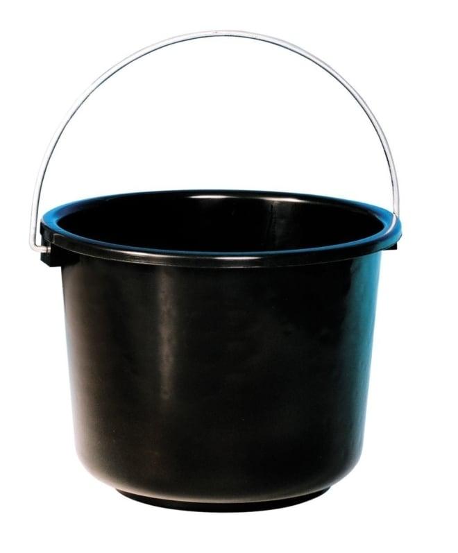 Curver bouwemmer 12 liter zwart