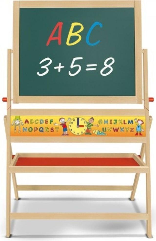 Schoolbord Hout en magnetisch