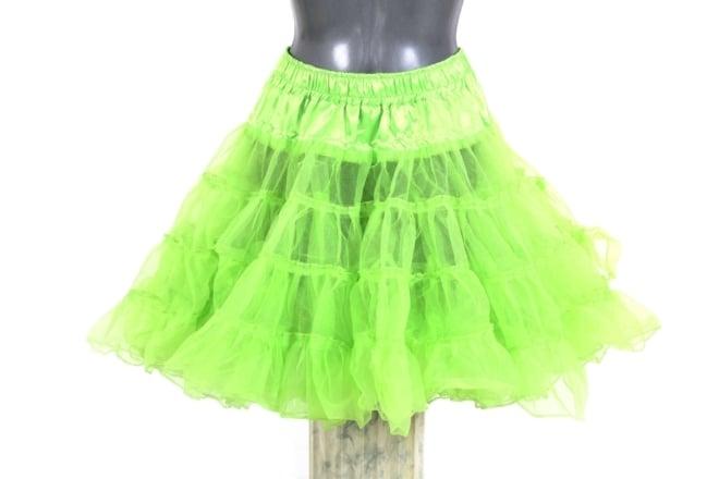 petticoat hot green