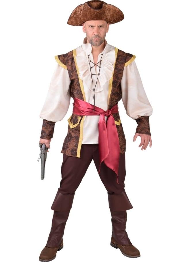 Piraat bruin-bordeaux