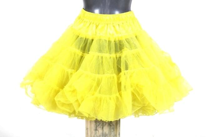 petticoat long geel