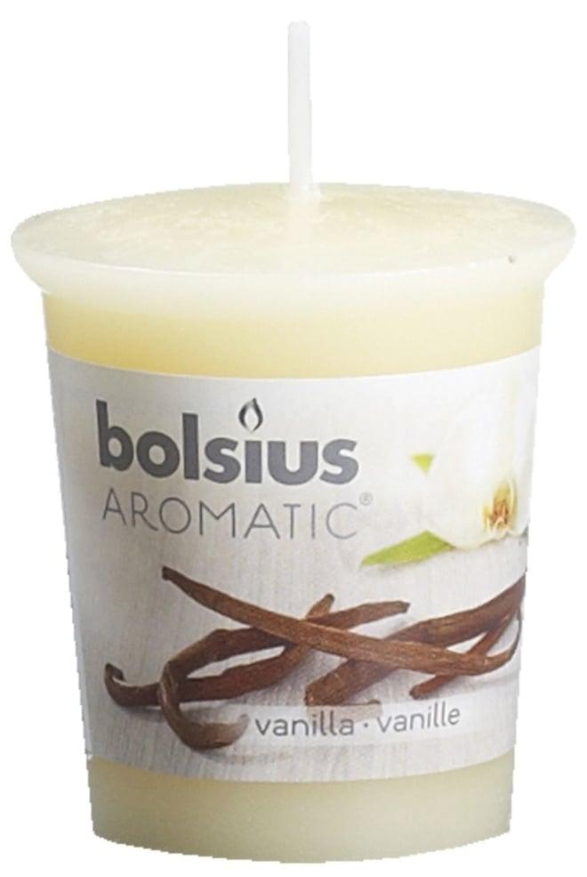 Bolsius Geurvotive rond 53/45 Vanilla