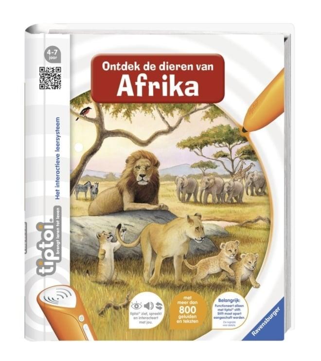 Ravensburger TipToi® boek Ontdek de dieren van Afrika 4-7 jaar
