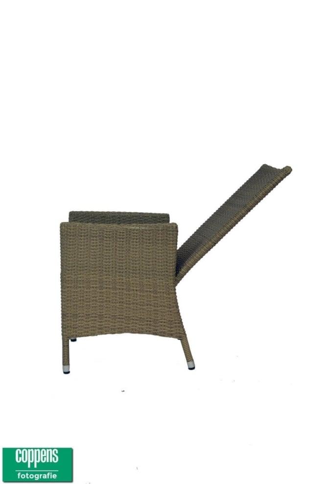 Exclusief Provence gasveer stoel licht bruin