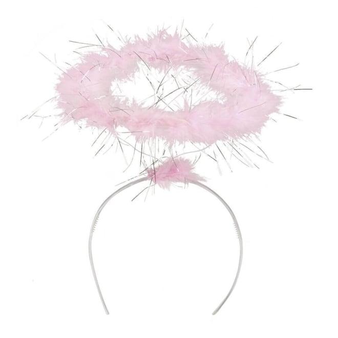 Tiara halo roze