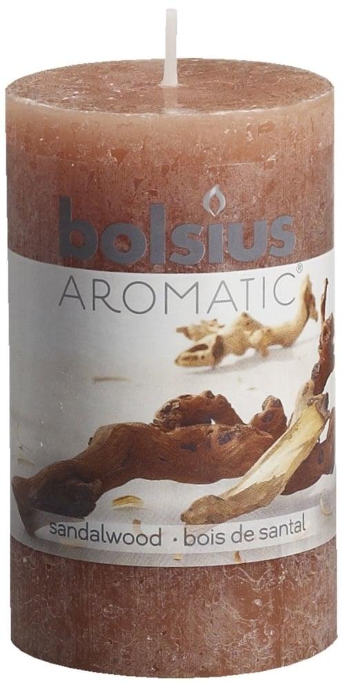 Bolsius Stompkaars rustiek geur 100/58 Frag. Rustic Sandalwood