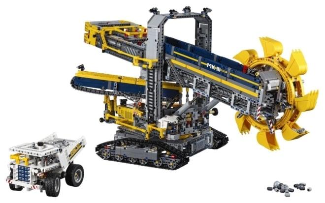 LEGO®Technic 42055 Emmerwiel graafmachine