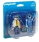 Playmobil® 6844 Duo Pack  Duopack uitvinder en robot op=op - Product thumbnail
