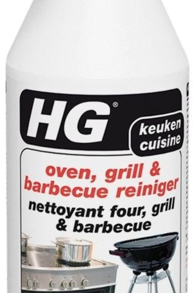 HG oven, grill & barbecuereiniger (spray) 0,5ltr. | Coppens