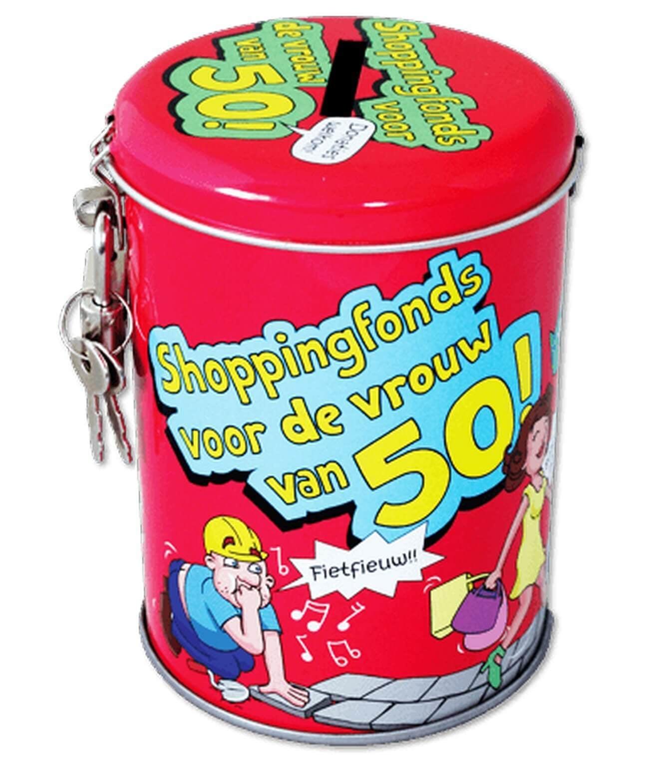 Spaarpotten - 50 jaar vrouw