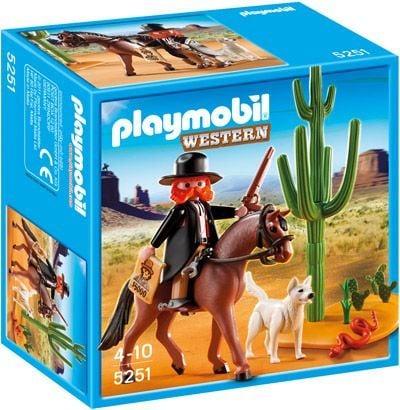Playmobil Sheriff te paard 5251